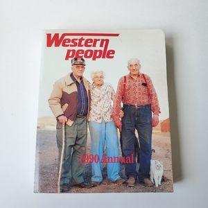 Vintage Western People magazine 1990 annual